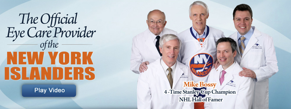 Official Eye Care Provider for the New York Islanders